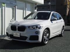 BMW X1xDrive18dMスポーツ 電動テールゲート シフトパドル
