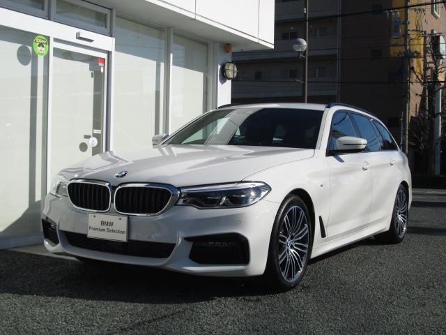 BMW 523dツーリングMスポーツACC HUD ステアリングアシ
