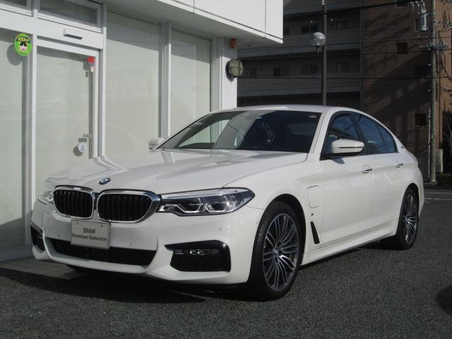 BMW 530eMスポーツ 弊社デモカー ACCドライビングアシスト