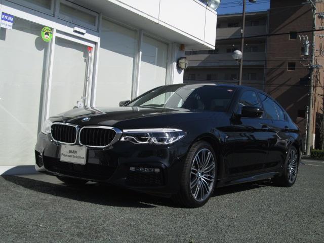 BMW 530iMスポーツ 弊社デモカー ドライビングアシストプラス