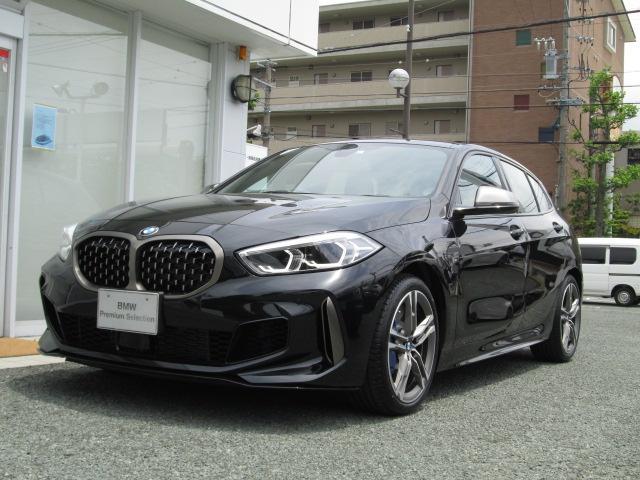 BMW M135ixDrive AIナビ ACC 黒革 Pアシスト