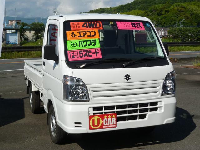 スズキ KCエアコン・パワステ 4WD 5MT ワンオーナー