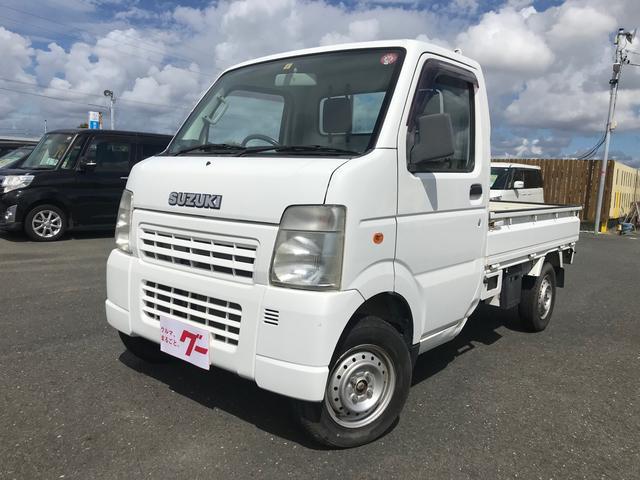 スズキ KCパワステ農繁仕様 4WD 軽トラック エアコン パワステ