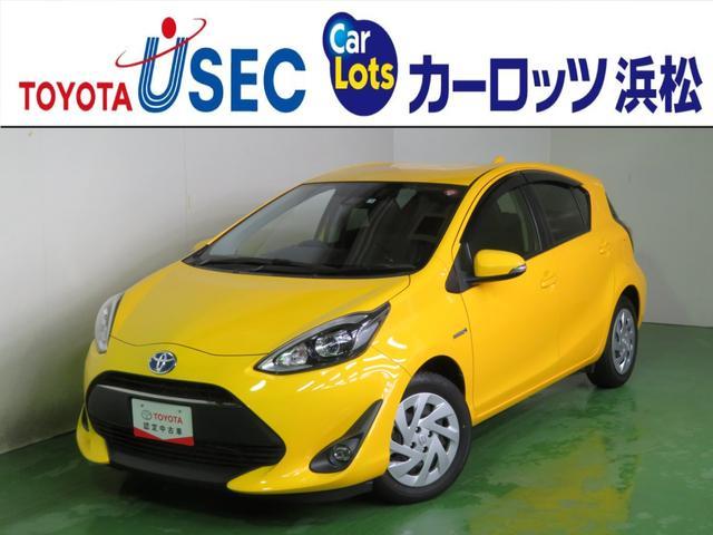 トヨタ アクア Gソフトレザーセレクション 純メモリーナビ ETC 1年保証