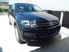VW トゥアレグV6 BMT レザー