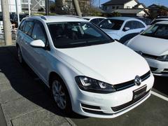 VW ゴルフヴァリアントTSIハイラインBMT 黒革 オイル交換永久無料