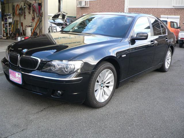 BMW 7シリーズ 750i 車検記録簿23・25・27・29・31年あり/ワンオーナー車