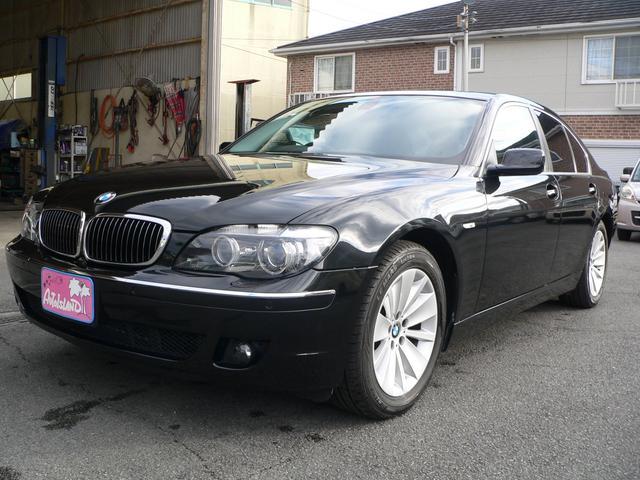 BMW 750i/車検記録簿23・25・27・29・31年あり/