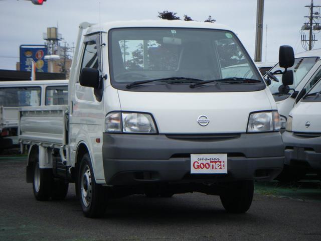日産 バネットトラック スーパーローDX 低床Wタイヤ 積載850kg 走行10800km エアコン パワステ パワーウインドウ 集中ロック