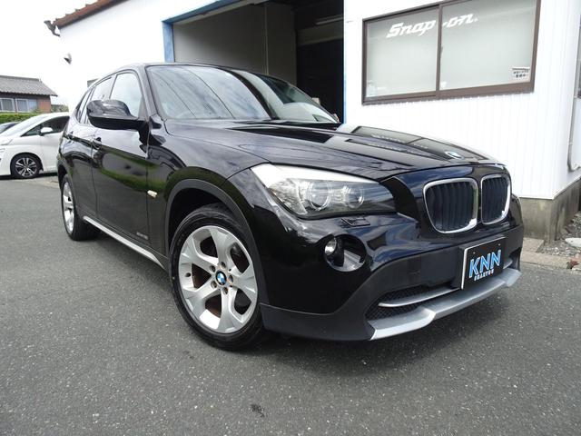 BMW X1 sDrive 18i ハイラインパッケージ ブラックレザー 純正HDDナビ HID コンフォートアクセス 記録簿スペアキー付き ドライブレコーダー ハーマンカードンツィーター 17インチアルミ シートヒーター パワーシート DVD グー鑑定済み