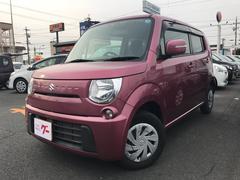 MRワゴンECO−X 軽自動車 カシスピンクパールメタリック