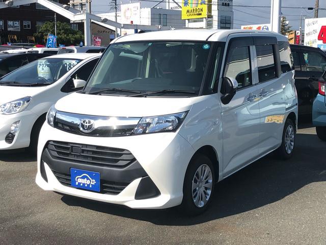 トヨタ タンク X SDナビ バックモニター オートライト ETC スマートキー