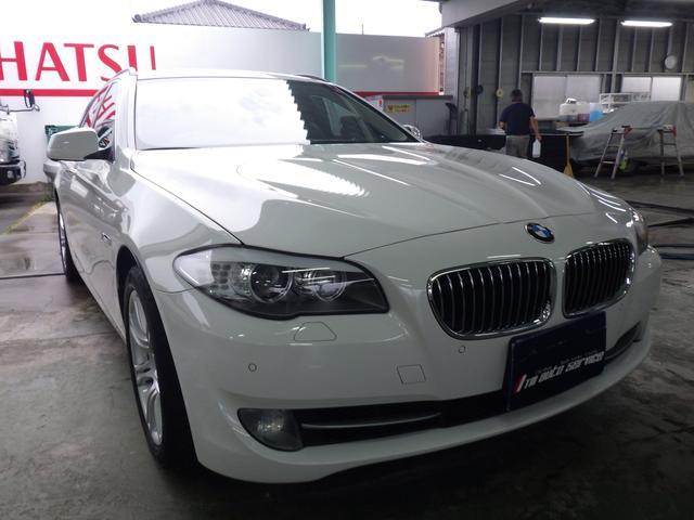 BMW 523iツーリング 純正フルセグナビ Bカメラ