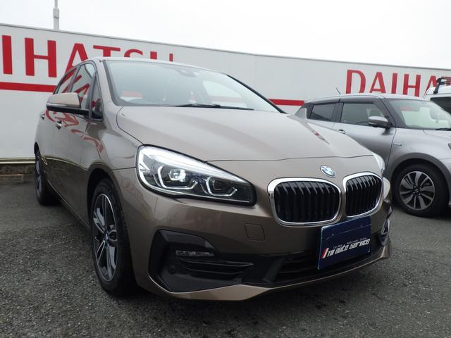 BMW 218iアクティブツアラー スポーツ ディーラー車 純正ナビ
