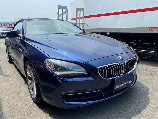 BMW 6シリーズ 640iカブリオレ 電動オープン 純正HDDナビ キーフリー