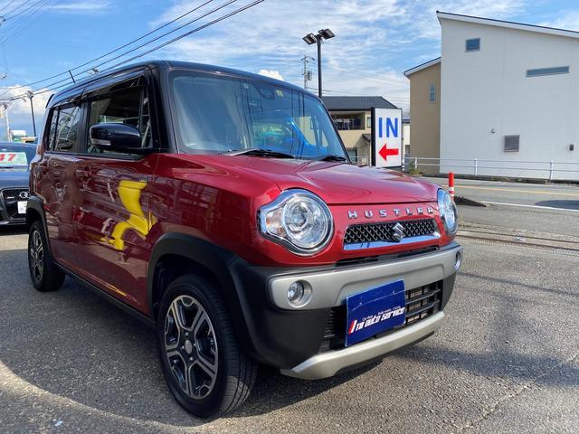スズキ ハスラー Xターボ ワンオーナー 禁煙車 4WD ターボ パナソニックフルセグナビ キーフリー