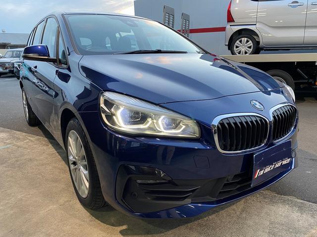 BMW 2シリーズ 218dグランツアラー ディーラー車 右H 純正ナビ Bluetooth Bカメラ ETC スマートキー