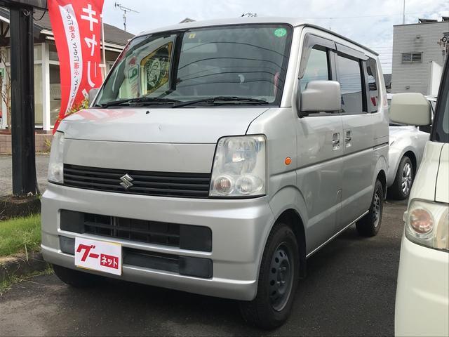 スズキ エブリイワゴン JP 5速マニュアル メモリーナビTV ETC