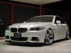 BMW523i MスポーツP 19AW 車高調 黒革シート