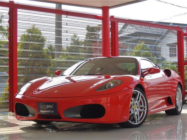 フェラーリ F1 D車 HDDナビTV レッドレザー