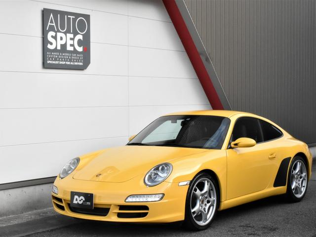 ポルシェ 911 911カレラ ディーラー車 左ハンドル 6MT ストラーダナビ カレラS19インチAW