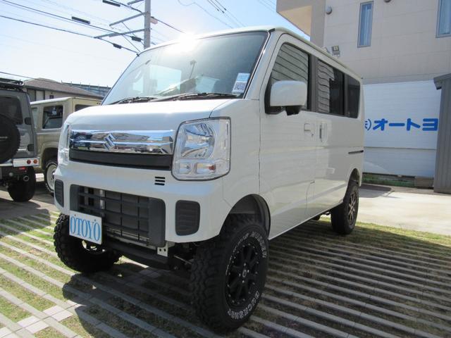 スズキ エブリイワゴン JPターボ 4WD 4インチリフトアップ シンプルVer.
