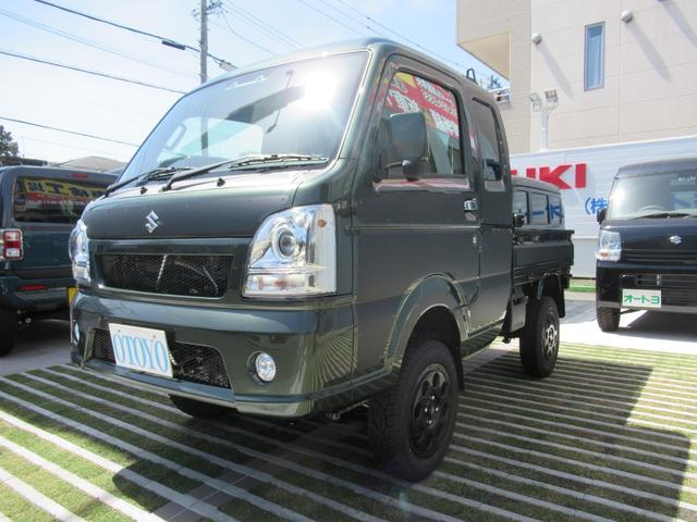 スズキ スーパーキャリイ X 4WD 4インチリフトアップ 5MT