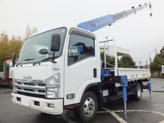 エルフトラック2.9t吊6段ラジコンフックイン リヤジャッキ