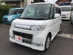 タントカスタムX 軽自動車 インパネ4AT エアコン アルミ