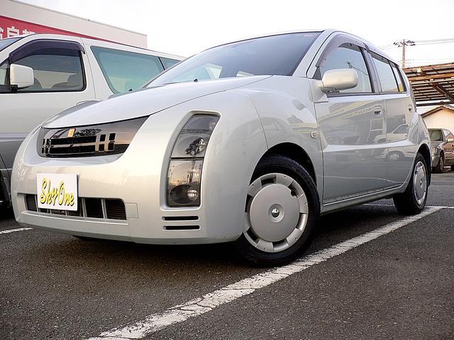 トヨタ 1.3L 純正ナビゲーション 純正CDMD プライバシーガラス キーレス 禁煙車 運転席シートリフター付 電格ミラー オートAC ABS