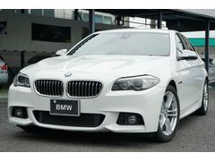 BMW523d Mスポーツ 後期モデル 禁煙車 ウッドパネル