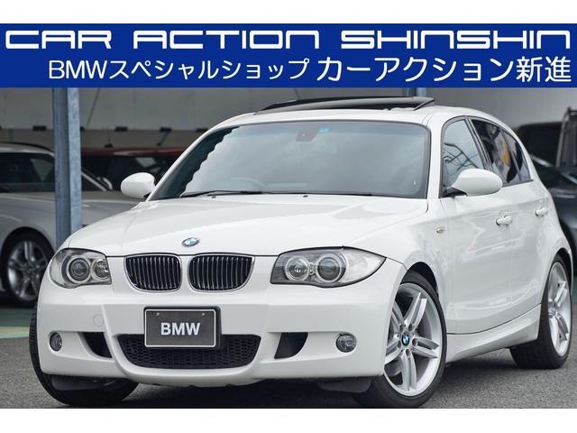 BMW 1シリーズ 130i Mスポーツ 1オーナー サンルーフ 18インチ