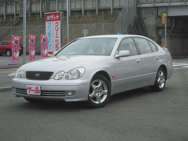 トヨタ アリスト S300ベルテックスエディション DVDナビ Rスポ GAW