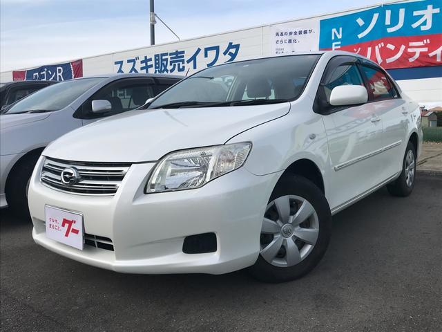 トヨタ X MT バックカメラ オーディオ付 AC セダン