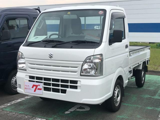 スズキ KCエアコン・パワステ 4WD AC MT 軽トラック