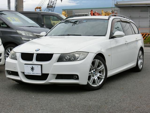 BMW 320iツーリング Mスポーツパッケージ HDD純正ナビ