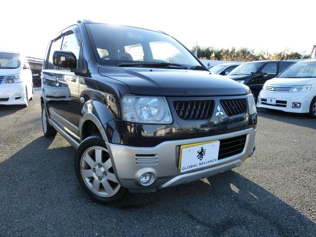三菱 スペシャルカラーエディションV 4WD ETC シートヒーター キーレス 純正14インチアルミ
