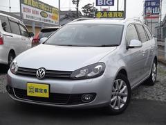 VW ゴルフヴァリアントTSIコンフォートラインプレミアムエディション 純正ナビTV