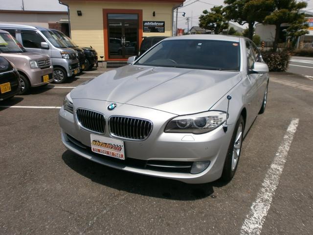 BMW 523iハイライン 純正ナビTV バックカメラ 本革シート