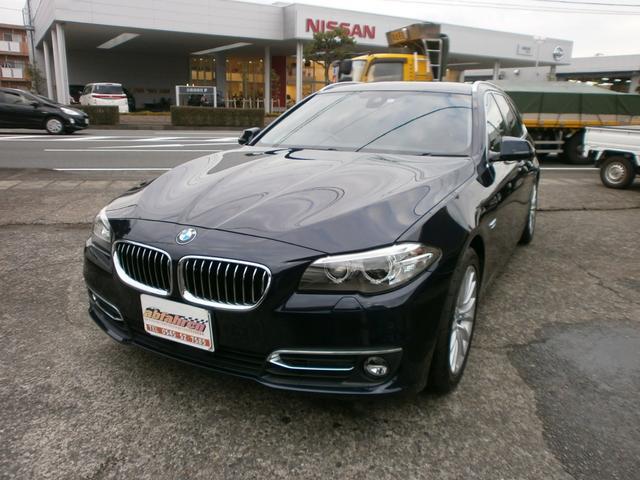 BMW 523dツーリングラグジュアリー 衝突安全装置付 地デジTV