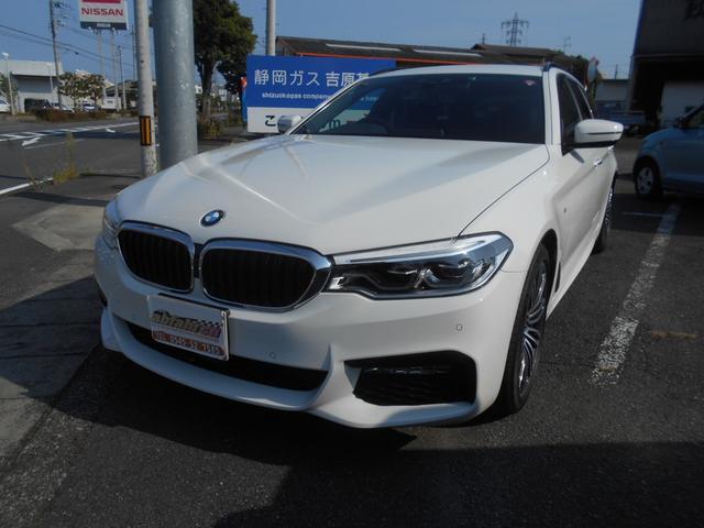 BMW 5シリーズ 523dツーリング Mスポーツ ダイナミックエアロパッケージ 純正HDDナビ 地デジTV ETC 全方位カメラ ドライブレコーダー スマートキー LEDヘッドライト 純正19インチアルミホイール ランフラットタイヤ パワーバックドア