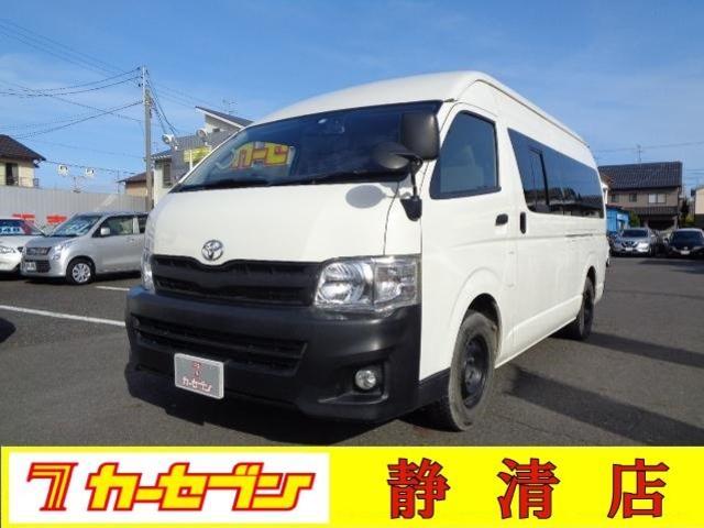 トヨタ ワイド・スーパーロングDXハイルーフ 6人乗り ナビ