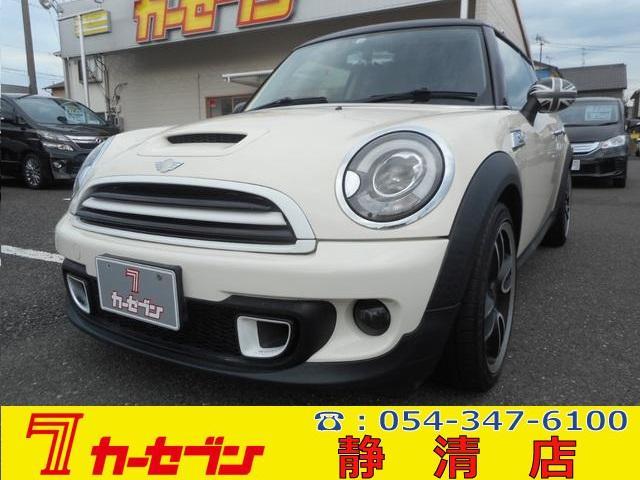 MINI MINI クーパーS 6速マニュアル/後期モデル/ワンオーナー/禁煙/サンルーフ/HID