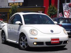 VW ニュービートルLZ 左H サンルーフ 革シート Fシートヒーター Rソナー