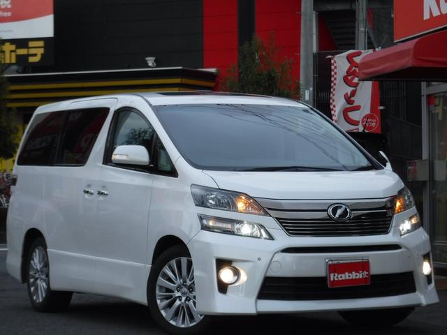トヨタ 2.4Z Gエディション 9型SDナビTV サンルーフ 黒革