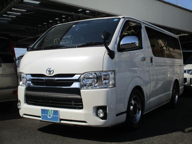 トヨタ ロングスーパーGL セーフティセンス 2.8D LEDライト