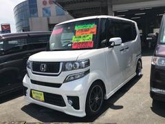 N BOXカスタムG・ターボパッケージ モデューロX 車高調 レカロシート
