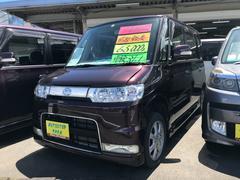 タントカスタム 軽自動車 インパネ4AT 保証付