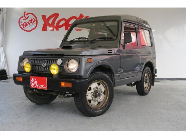 スズキ ジムニー EC パノラマルーフ ワンオーナー 社外オーディオ 4WD