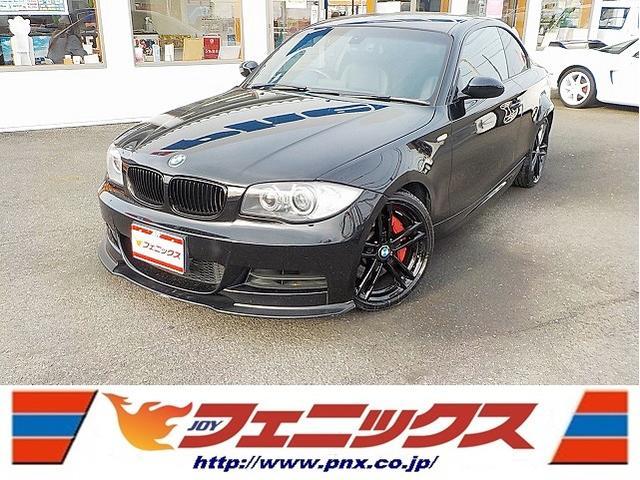 BMW 135i禁煙車ユーロスペック車高調HDDナビ黒革シートHID
